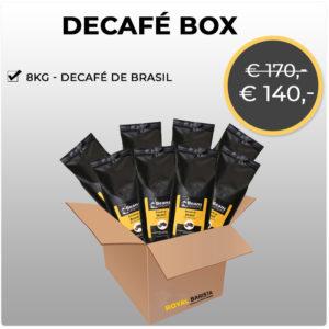 8KG -Decafé de Brasil Espressobonen